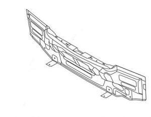 Панель задняя багажника (хетчбэк) Geely MK-2 101201039002