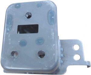 Кронштейн усилителя переднего бампера левый Geely X-7 101201878902