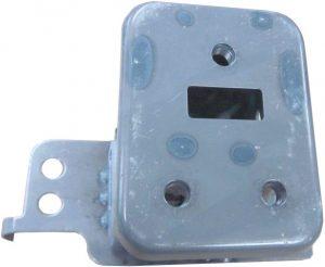 Кронштейн усилителя переднего бампера правый Geely X-7 101201879302