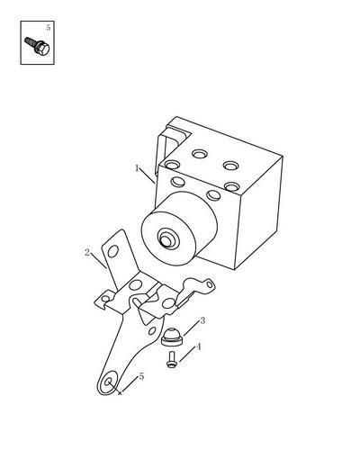 Блок ABS Geely MK 1014001686