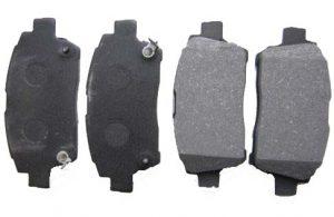 Колодки тормозные передние Geely MK/FC/SL, BYD F3 1014003350
