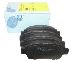 Колодки тормозные передние BluePrint (Великобритания) Geely MK/FC/SL, BYD F3 1014003350/BluePrint