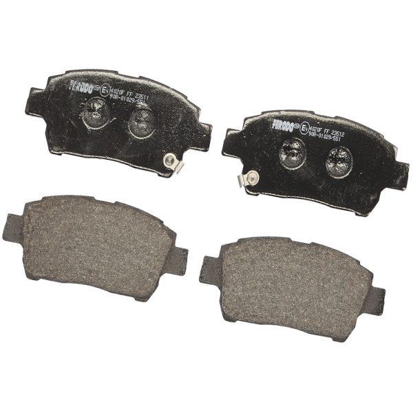 Колодки тормозные передние Ferodo (Франция) Geely MK/FC/SL, BYD F3 1014003350/Ferodo