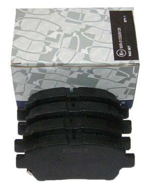 Колодки тормозные передние Konner (Корея) Geely MK/FC/SL, BYD F3 1014003350/Konner