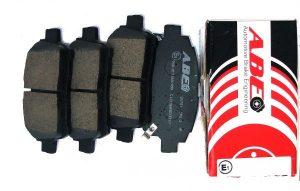 Колодки тормозные передние ABE (Чехия) Geely MK/FC/SL, BYD F3 1014003350/ABE