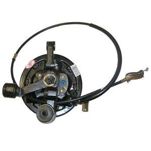 Тормозной механизм заднего левого колеса в сборе (с ABS, двухрядный подшипник) Geely CK 1014014122