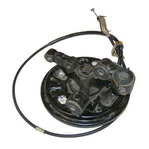 Тормозной механизм заднего левого колеса в сборе (без ABS) Geely CK 1014014150
