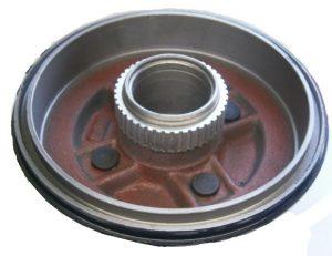 Барабан тормозной задний (с ABS, под двухрядный подшипник) Geely CK-2 1014014174