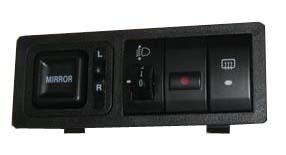 Блок управления зеркалами и корректором фар Geely MK-2 1017000970