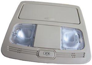 Плафон освещения салона передний (серый) Geely X-7/EC-8 101700145500433