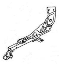 Механизм регулировки переднего сидения левый Geely MK 1018003851-01