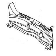 Панель задняя багажника пластиковая (хетчбэк) Geely MK-2 101800605500601