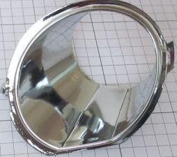 Накладка хромированная противотуманной фары правой Geely MK-2/MK New 1018006151