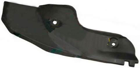 Брызговик задний правый (хетчбэк) Geely MK-2 1018008127