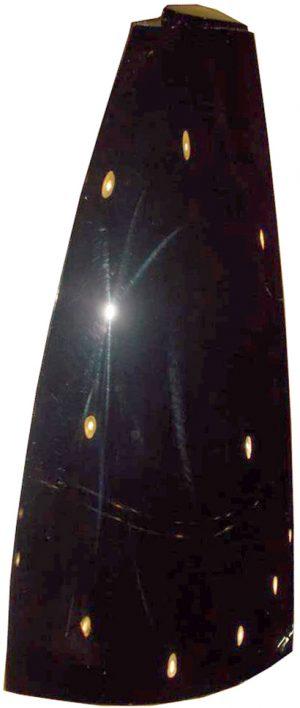 Накладка боковины кузова задняя левая (пластик) Geely X-7 101801346559
