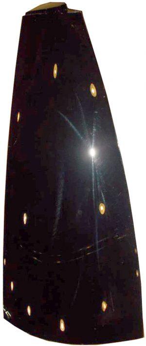 Накладка боковины кузова задняя правая (пластик) Geely X-7 101801346659