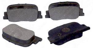 Колодки тормозные задние Geely FC/SL, BYD F3 1061001404