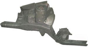 Лонжерон передний правый Geely FC/SL 106200051201