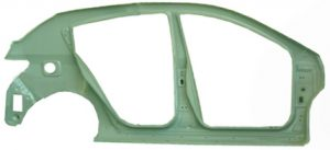 Панель кузова левая (хетчбэк) Geely EC-7RV 106200310202