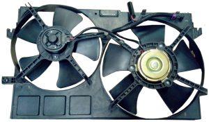 Вентилятор охлаждения в сборе (двойной) Geely EC-7 1064001191