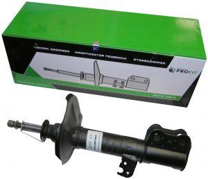 Амортизатор передний левый газо-масляный Profit (Чехия) Geely EC7/FC/SL, BYD F3 1064001256/Profit