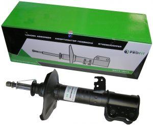 Амортизатор передний правый газо-масляный Profit (Чехия) Geely EC7/FC/SL, BYD F3 1064001257/Profit