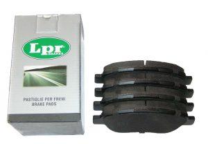 Колодки тормозные передние LPR (Италия) Geely EC-7 1064001724/LPR