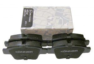 Колодки тормозные задние Konner (Корея) Geely EC-7 1064001725/Konner