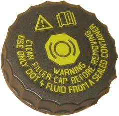 Крышка бачка главного тормозного цилиндра Geely EC-7/X-7/EC-8 1064001743