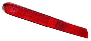 Отражатель заднего бампера левый (хетчбэк) Geely EC-7RV 1067002040