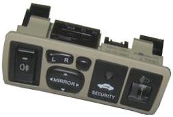 Блок управления зеркалами и светом (бежевый) Geely FC 106701000300602