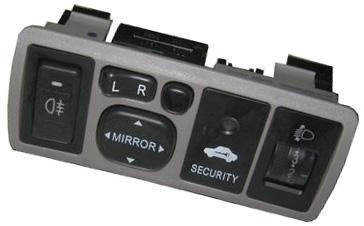 Блок управления зеркалами и светом (серый) Geely FC 106701000300603
