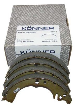 Колодки тормозные задние (с ABS) Konner (Корея) Geely CK 1403060180/Konner