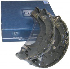 Колодки тормозные задние (с ABS) Q-Fix (Нидерланды) Geely CK 1403060180/QFix