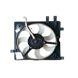 Вентилятор охлаждения радиатора (левый, на 5 креплений) Geely CK/MK 1602044180