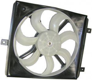 Вентилятор кондиционера (правый, на 3 крепления) Geely CK/MK 1016003508 1602192180