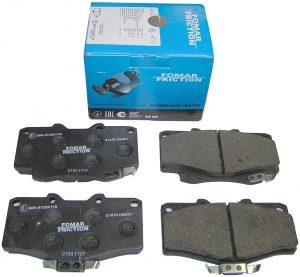 Колодки тормозные передние Fomar (Германия) Great Wall Safe G5/Deer 4х4 3501080-F00/Fomar