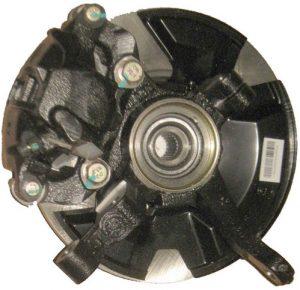 Тормозной механизм переднего левого колеса в сборе (без ABS) Geely CK 3501100180