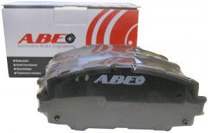 Колодки тормозные передние ABE (Польша) Great Wall Voleex C10/C20R/C30 3501140-G08/ABE