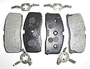 Колодки тормозные передние (с ABS) Geely CK 3501190005