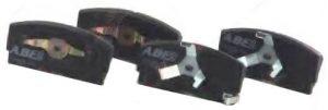 Колодки тормозные передние (с ABS) ABE (Чехия) Geely CK 3501190005/ABE