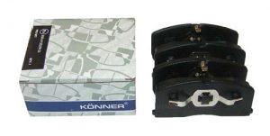 Колодки тормозные передние (с ABS) Konner (Корея) Geely CK 3501190005/Konner