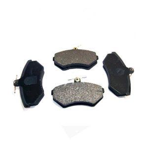 Колодки тормозные передние Chery Amulet (без ABS)/Tiggo (с пружинкой), Geely CK (без ABS) A11-3501080 3501190106