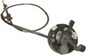 Тормозной механизм заднего правого колеса в сборе (с ABS, конусный подшипник) Geely CK 3502080180