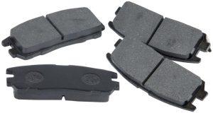 Колодки тормозные задние Great Wall Hover/Safe F1 3502120-K00