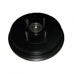 Барабан тормозной задний (без ABS, под конусный подшипник) Geely CK-1/CK-2 3502215106