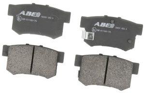 Колодки тормозные задние ABE (Чехия) Great Wall Haval H6 3502315XKZ16A/ABE