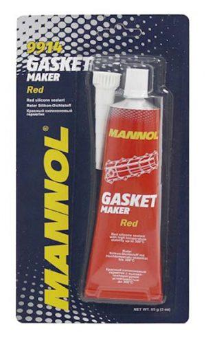 Герметик силиконовый (красный) Mannol Gasket 85g