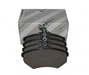 Колодки тормозные передние Profit (Чехия) Chery Amulet (без ABS)/Tiggo (с пружинкой), Geely CK (без ABS) A11-3501080/Profit
