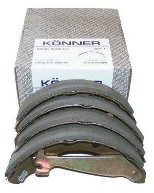 Колодки тормозные задние Konner (Корея) Chery Amulet/Forza A11-3502170/Konner